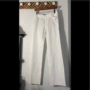 Club Monaco Wide leg white pant